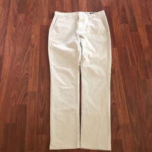 Bonobos Khaki Tailored Fit Chino Pants 32X32 New